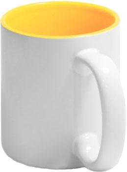 Чашка цветная внутри